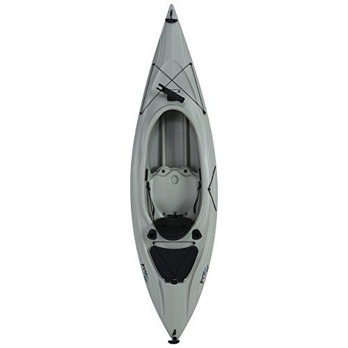 Lifetime Payette Sit-Inside Angler Kayak with Paddle, Sandstone, 116