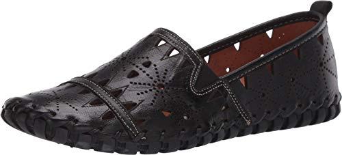 Spring Step Women's Fusaro Slip-On Shoe Black EU 40 / US 9