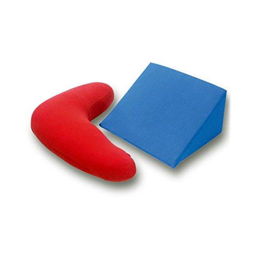 G Bettwarenshop Jersey Bezüge für Bumerangkissen und Keilkissen anthrazit, Bezug für Bumerangkissen