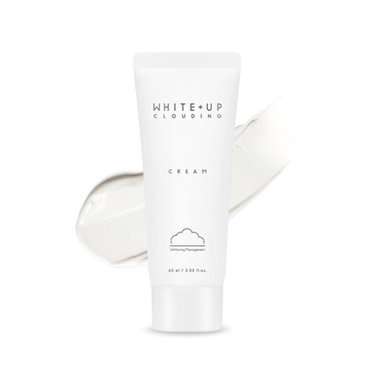 隔離する舗装中傷APIEU (WHITE+UP) Clouding Cream/アピュ ホワイトアップクラウドディングクリーム 60ml [並行輸入品]