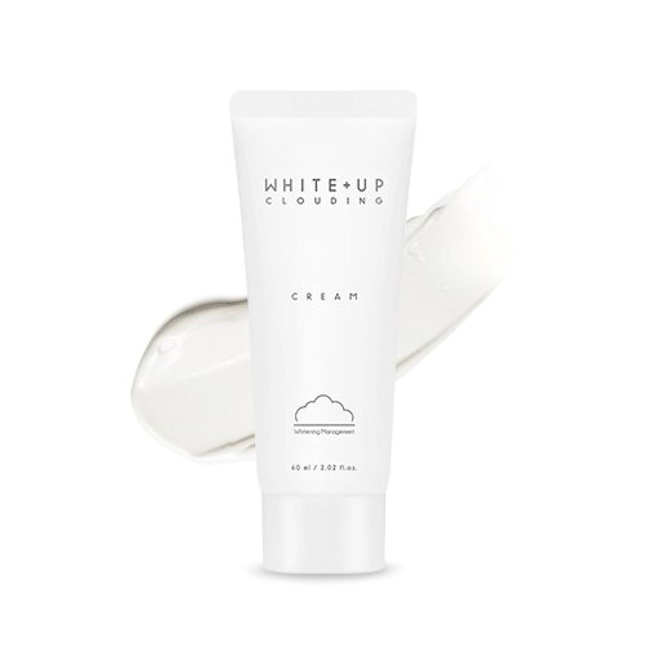 常習的威信殺すAPIEU (WHITE+UP) Clouding Cream/アピュ ホワイトアップクラウドディングクリーム 60ml [並行輸入品]