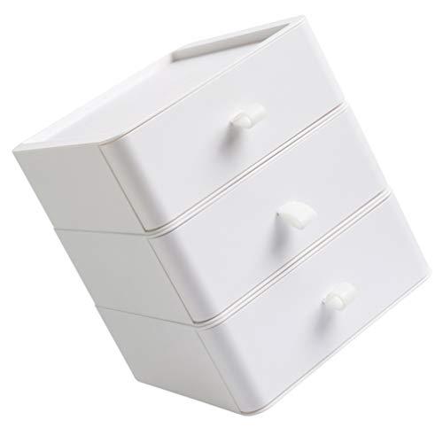Cabilock Table-Top Tiroir Organisateur Bureau Classement Document Armoire Tiroir Mini Bureau Boîte de Rangement pour Fournitures de Bureau Articles de Toilette Artisanat