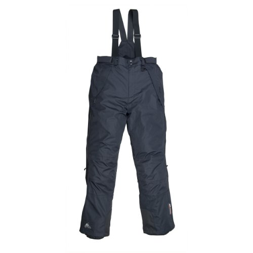 Cox Swain Herren 2-Lagen Skihose Snowboardhose Level - mit RECCO Lawinenreflektor, Colour: Black, Size: XL