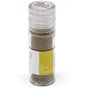 Customer reviews Hyssop Salt Gourmet Salt from The Dead Sea 3.87oz / 110 Grams