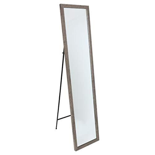 ATMOSPHERA EFFE Standspiegel mit Neigungswinkel, 35x155 cm, beige, Farbe:Grau