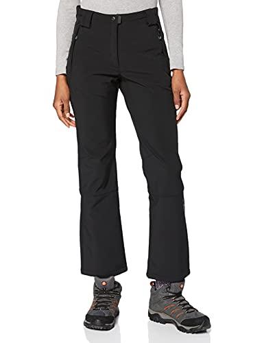 CMP Hose Softshell - Pantalones para mujer, color negro (u901), talla DE:...