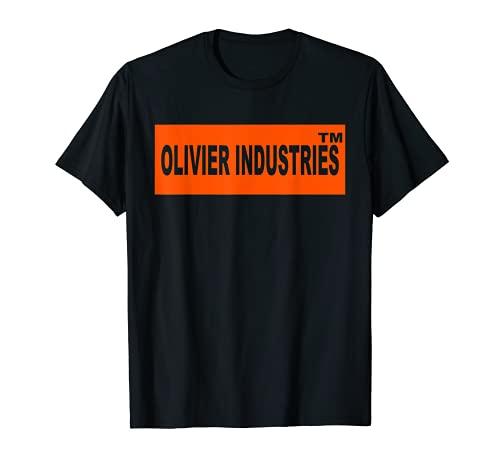 Disfraz de Olivier Industries con logotipo registrado Camiseta
