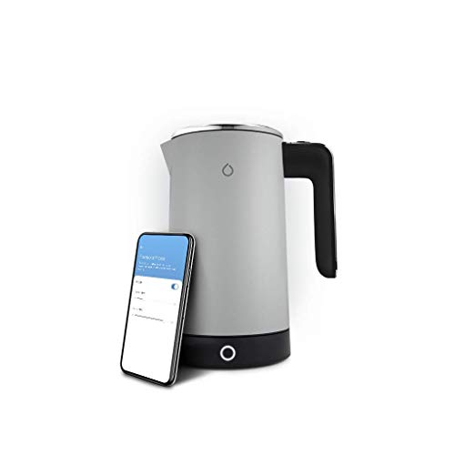 Smarter SMKET01-UK-GC Hervidor WiFi iKettle, Acero inoxidable, 3000 W, 1,8 litros
