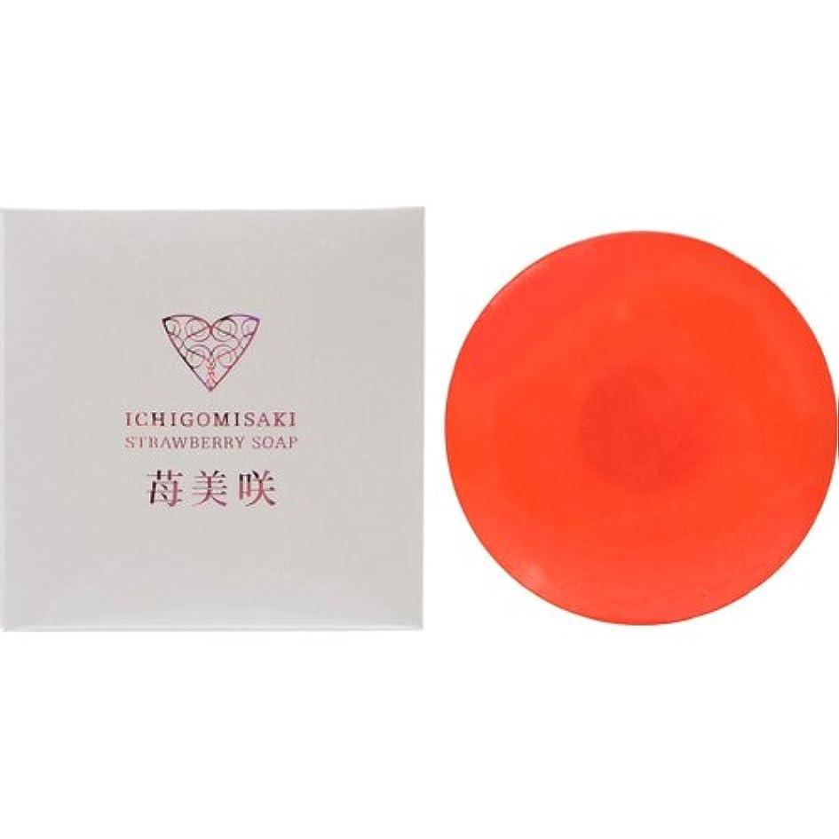 渦ラベル別にアクト化成 苺美咲 洗顔石鹸 100g