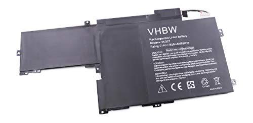 vhbw Batterie 7830mAh (7.4V) pour Notebook Dell Inspiron 14 7000 comme 5KG27.