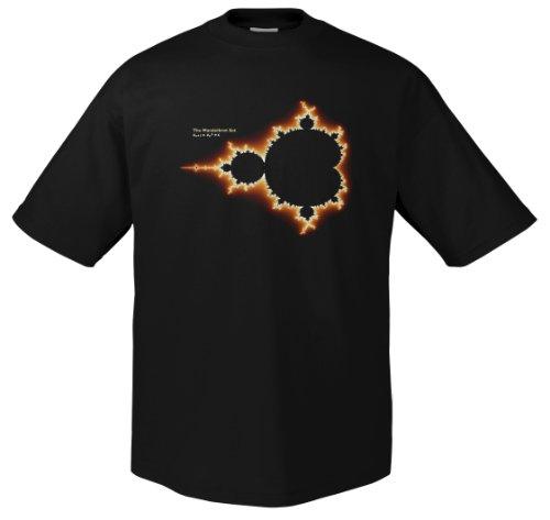 Nerd Mandelbrot 701706 Herren T-Shirt 001 M