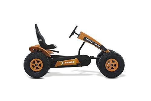 BERG Gokart mit XL-frame X-Treme mit Dreigangschaltung | Kinderfahrzeug , Tretauto mit verstellbarer Sitz, Mit Freilauf, Kinderspielzeug geeignet für Kinder im Alter ab 5 Jahren
