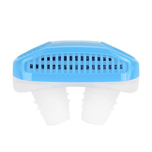 Preisvergleich Produktbild Anti Schnarchen Schnarchen Nasendilatator Luftreiniger Filterlösung für komfortablen natürlichen Schlaf(Blue)