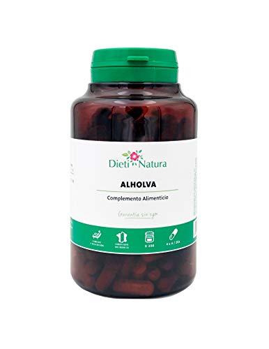 Alholva (Fenogreco) 200 cápsulas de Dieti Natura. Potente fortificante [Fabricado en Francia][Garantía Sin OGM ni Gluten] (Bote de 200 cápsulas)