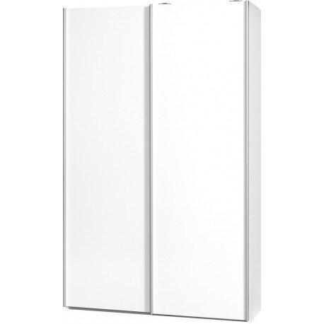 AVANTI TRENDSTORE - Armadio con 2 porte bianco, ca. 120x194x42cm