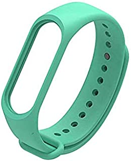Bracelet silicone for XIAOMI 3 & 4 Watch Band Turquoise Color