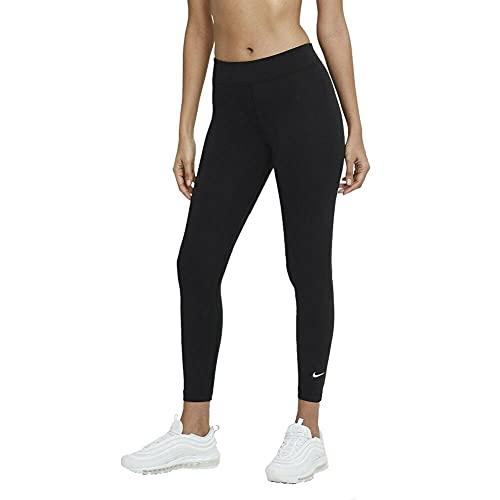 Nike Essential Mid Rise 7/8 Leggings Tights (M, Black, m)