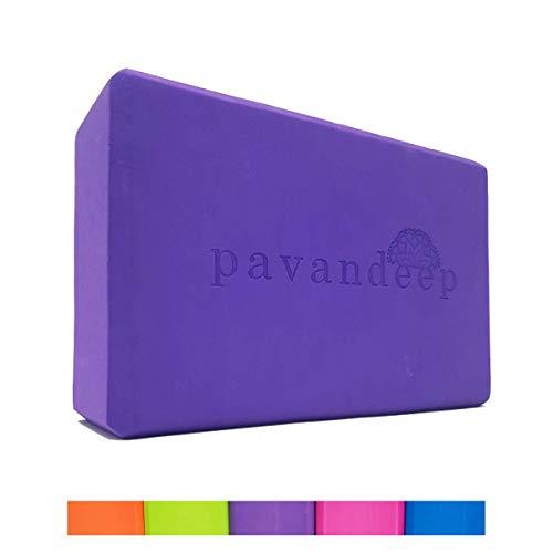 Pavandeep Yoga Blocks (1 Block or 3pc Yoga Block and...