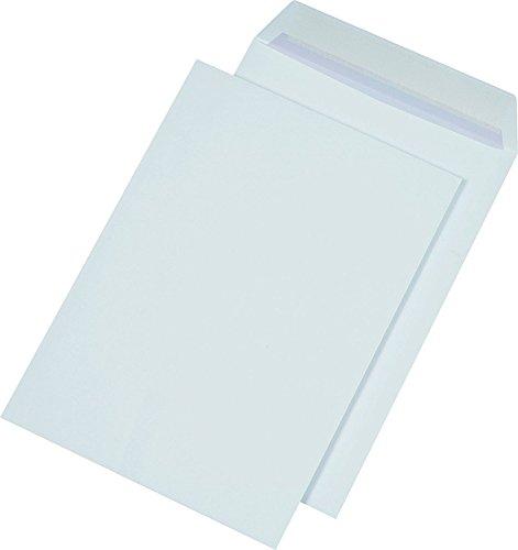 SECURITEX 395550 Versandtasche, B4, weiß, ohne Fenster, 130 g/qm