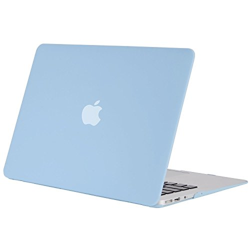 MOSISO Hülle Kompatibel mit MacBook Air 11 Zoll - Ultra Slim Hochwertige Plastik Hartschale Schutzhülle Snap Case Kompatibel mit MacBook Air 11 (A1370 / A1465), Air Blau