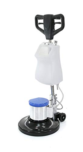 """Industrial Floor Polisher Machine 17"""" with (1 Tank + 2 Brushes + 1 Pad Holder),1.5 HP BF522"""