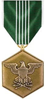 Medals of America Army Commendation Medal Full Size Reg Finish Bronze