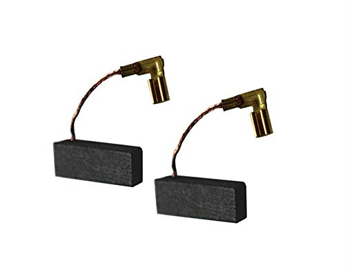 Cepillos de carbón de motor - 10 piezas de varios tamaños de cepillos de carbón de motor de repuesto eléctricos para herramientas eléctricas
