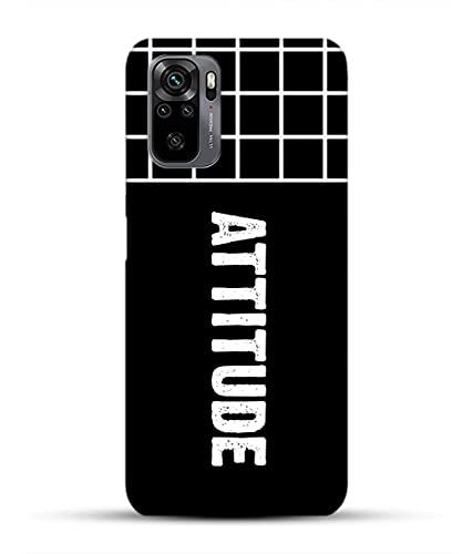 Attitude Quotes Redmi Note 10 Pro Cover for Boys Attitude