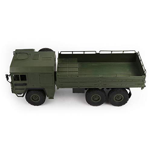 Ed Hardy Huyiko JJRC Q64 1/16 2,4G 6WD Rc Auto LKW Militär Offroad Rock Crawler RTR Spielzeug 6 Räder Racing Spielzeug Für Kinder Kinder Geschenke