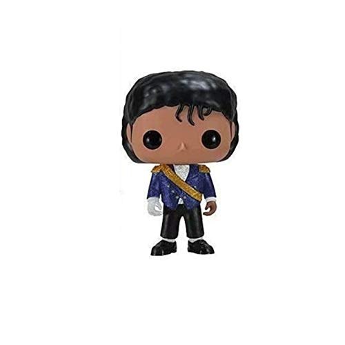 Funko Michael Jackson Figure Blue Uniform Q Version Vinyl 10cm for Boy
