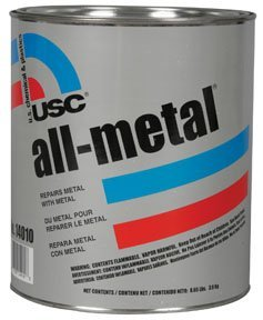 USC 14060 All-Metal Specialty Body Filler 1 QUART w/ Hardener by UCS