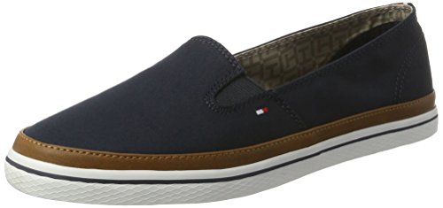 Tommy Hilfiger Damen Iconic Kesha Slip ON Slipper, Blau (Midnight 403), 38 EU