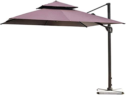 LYYJIAJU Parasolparasol Garden & Outdoors Garden Parasol Umbrella Outdoor Sunshade 3M Sun Umbrella Uv Protection Cantilever Umbrella For Garden Pool Terrace