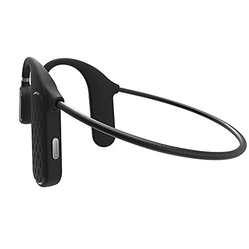 HiCollie 骨伝導ヘッドホン 骨伝導イヤホン Bluetooth イヤホン Bluetooth 5.0 耳掛け式イヤホン ワイヤ レスヘッドホン テレワーク在宅ワークに最適 最強ノイズキャンセリング スポーツヘッドホン 耳が疲れない