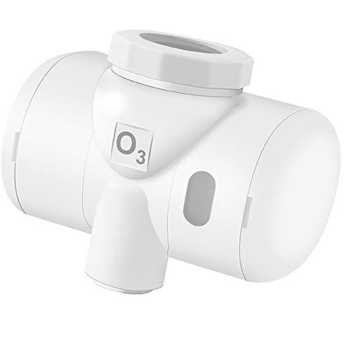 R&Xrenxia Filtro del Grifo, Agua con ozono Filtro ozonizador del generador del ozonizador del Grifo de Agua O3 Vegetal purificador de Lavar la Fruta para la Cocina