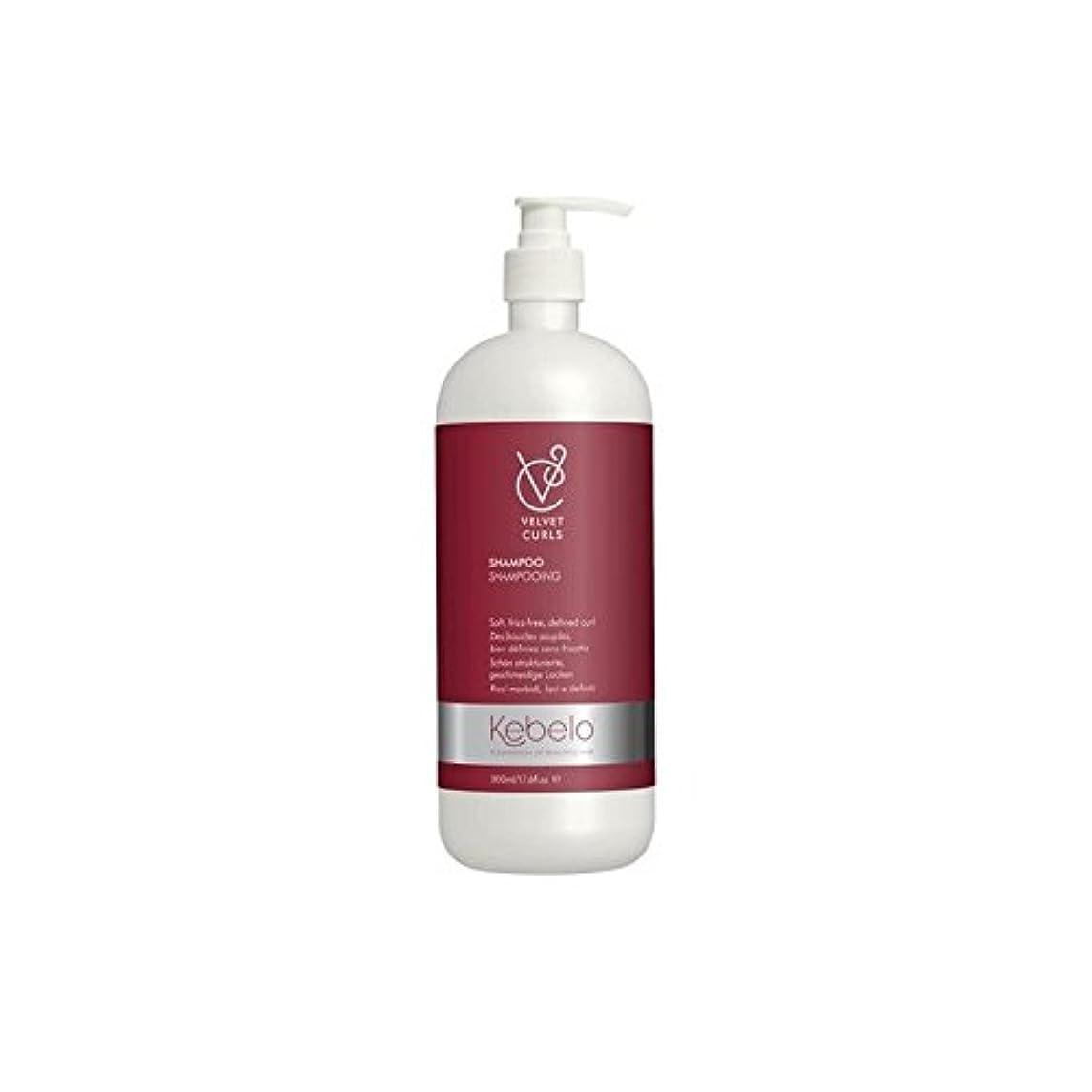 高価なクライマックス温帯ベルベットのカールシャンプー(500ミリリットル) x2 - Kebelo Velvet Curls Shampoo (500ml) (Pack of 2) [並行輸入品]