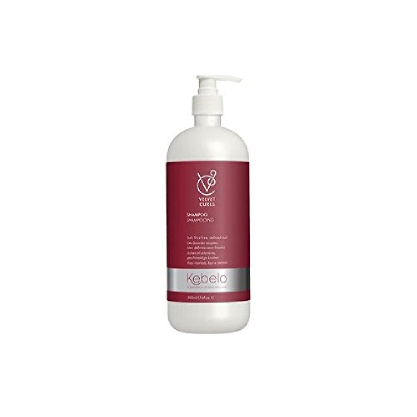 写真警官守銭奴ベルベットのカールシャンプー(500ミリリットル) x4 - Kebelo Velvet Curls Shampoo (500ml) (Pack of 4) [並行輸入品]