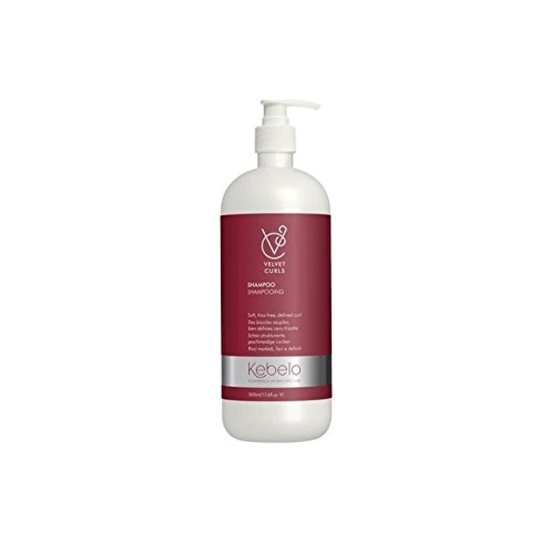 従来の粘り強い受付Kebelo Velvet Curls Shampoo (500ml) (Pack of 6) - ベルベットのカールシャンプー(500ミリリットル) x6 [並行輸入品]