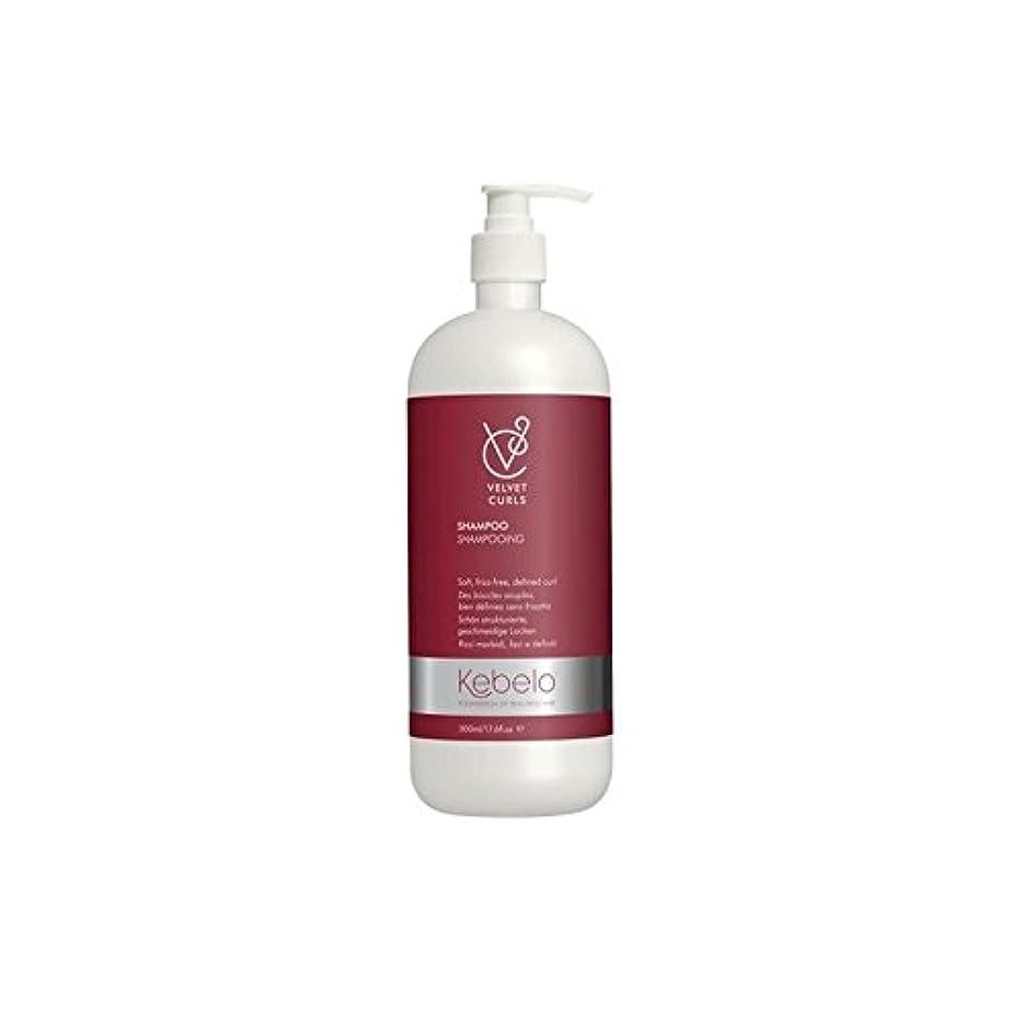広い道眠っているベルベットのカールシャンプー(500ミリリットル) x4 - Kebelo Velvet Curls Shampoo (500ml) (Pack of 4) [並行輸入品]