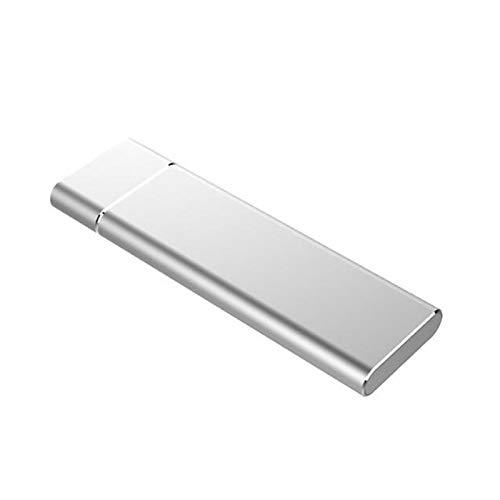 Luntus Caja de Disco Duro PortáTil con Disco Duro Externo de 1TB, Estuche de Disco Duro Ultradelgado Tipo C / USB3.1 Gen1 para Computadora PortáTil, PC