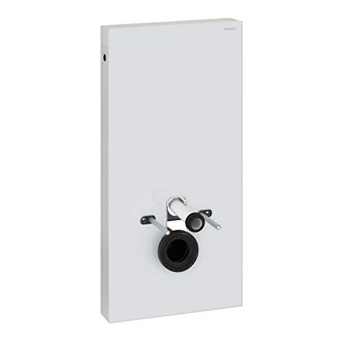 Geberit Spülmechanismus/Cist. Vista–Monolith WC KB04unten Glas weiß Aluminium