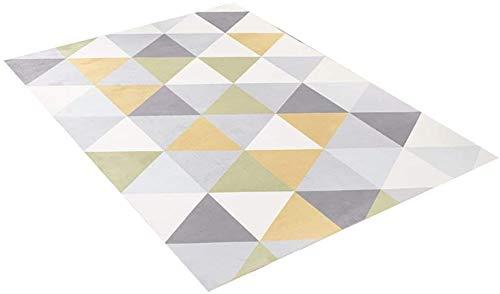 Interessant Zhoumei Rugs woonkamer Dekens for de moderne minimalistische geometrische tapijt sofa sofa kussens van de bank groot kleed kind box tapijt veranda deurmatten lobby 160 * 230cm