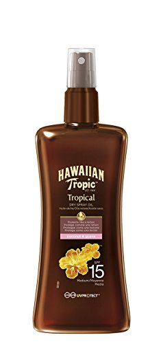 Hawaiian Tropic Protective Dry Oil Spray Aceite Bronceador - 200 ml