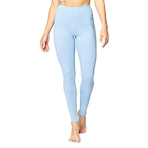 Leggins Deportivos Mujer Color sólido Cintura Alta Bolsillo Interior Yoga Fitness para Reducir Vientre Mallas Deporte Mujer Push Up