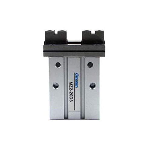 LIPENLI Paralelo Plana Tipo de Aluminio anodizado de guía Lineal Pinza neumática 20 mm Diámetro actuación Doble MZ2-20D3 instalación neumática