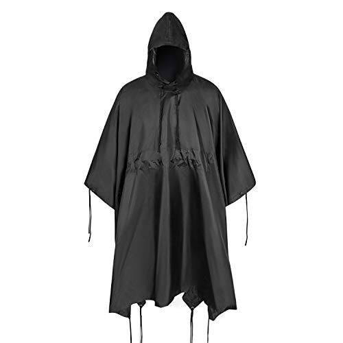 ACT FIRE Military Army Tactical Poncho W/P20000mm Military Grade...