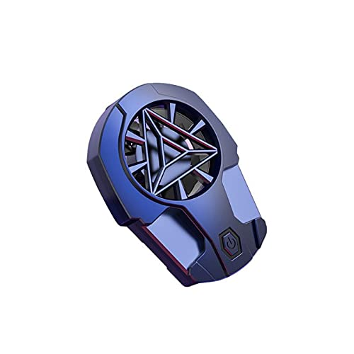 UMSA Teléfono móvil Universal Game USB Sistema del refrigerador Fan de enfriamiento Gamepad Holder Stand Radiator con Botones para iPhone Xiaomi Samsung(with Buttons,1)