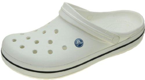 Crocs Crocband U, Zuecos Unisex Adulto, Blanco (White),...