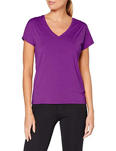 Reebok Os AC tee Camiseta, Mujer, Regal Purple, S