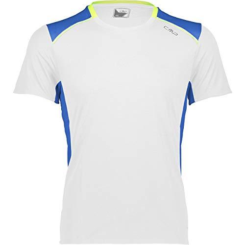 CMP Bianco T-Shirt pour Homme Taille 56